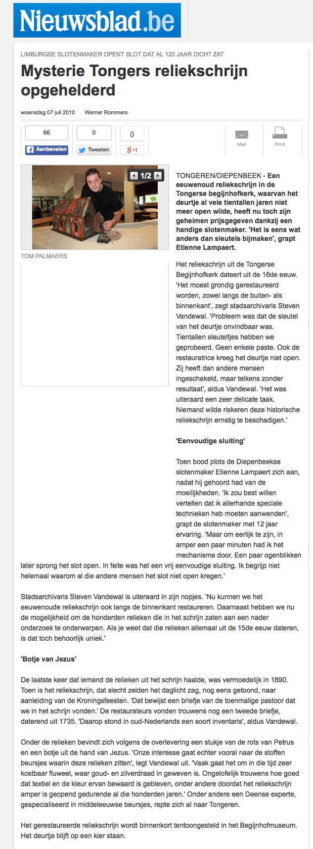 Artikel-Nieuwsblad
