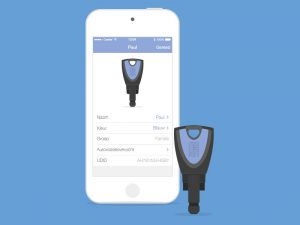 Applicatie Blue Compact elektronisch sluitplan